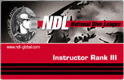 Инструктор по дайвингу 3 ранга NDL Instructor Rank III