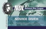 Курсы дайвинга для детей NDL Novice Diver