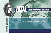 Продвинутый уровень обучения дайвингу NDL Advanced Universal Diver